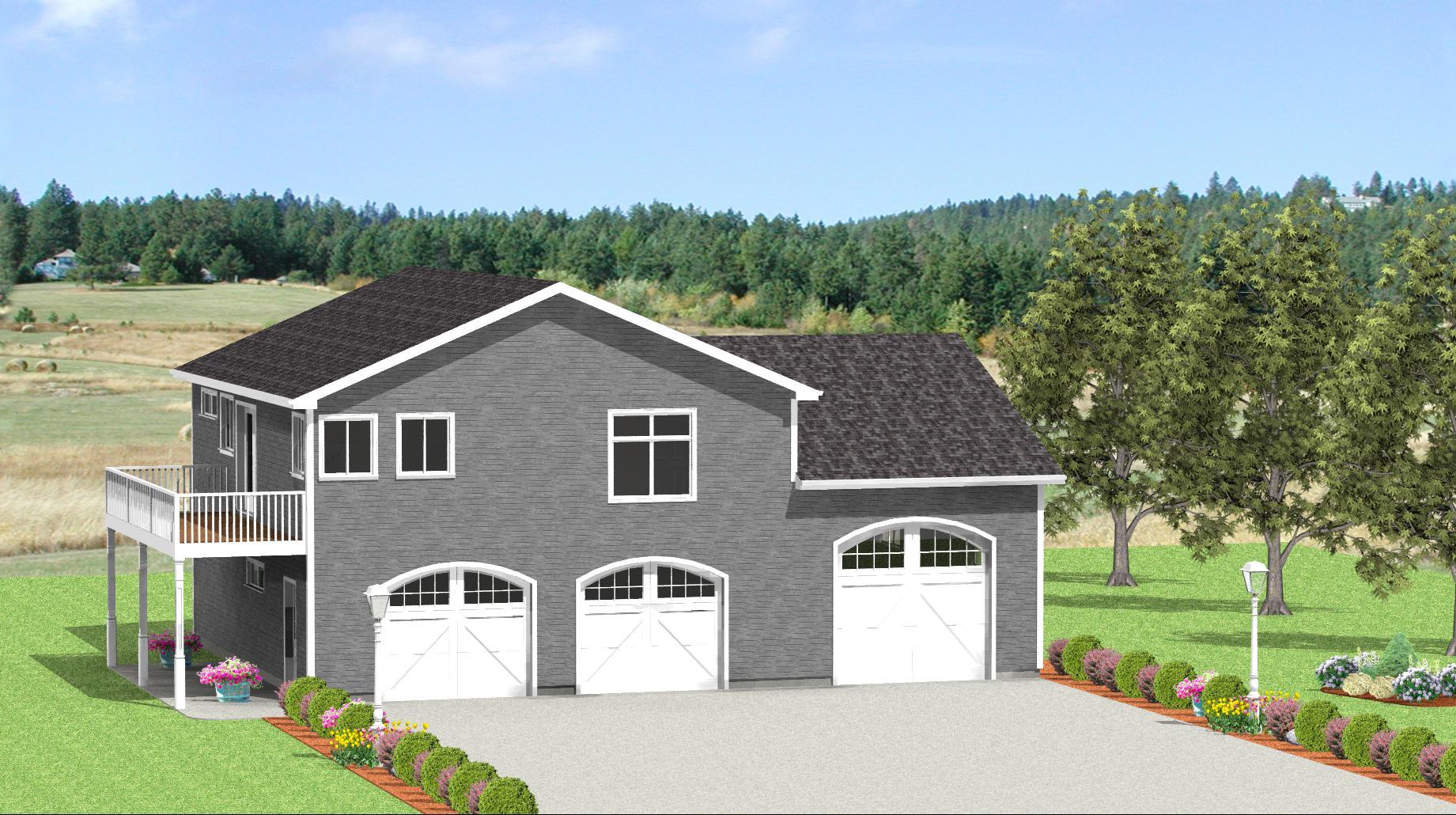 Remarkable 3 Car Garage Plans From Design Connection Llc House Plans Largest Home Design Picture Inspirations Pitcheantrous