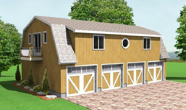 4 car garage plans from Design Connection LLC house plans – 1000 Sq Ft Garage Plans