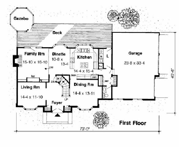 Design Connection, LLC - House Plans & House Designs - Plan detail