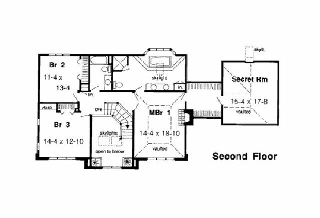 Home floor plans with hidden rooms for House plans with hidden rooms