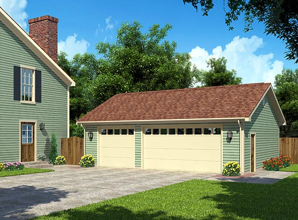 3 Car Garage Plans From Design Connection Llc House
