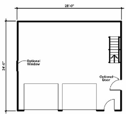 Design connection llc garage plans garage designs 24 x 28 garage plans free