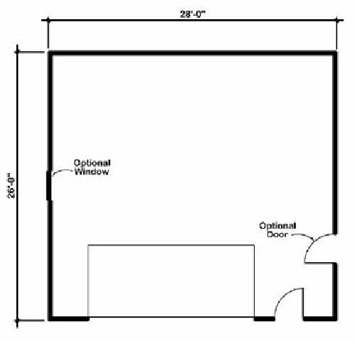 Design Connection LLC Garage Plans Garage Designs Plan detail – 60 X 40 Garage Plans
