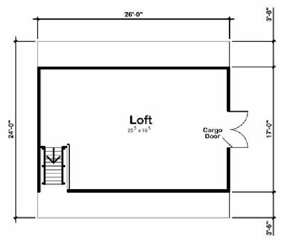Design Connection LLC Garage Plans Garage Designs Plan detail – 24 X 26 Garage Plans