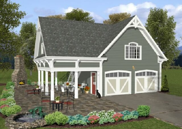 Garage plans packages house plans home designs for Pre cut homes