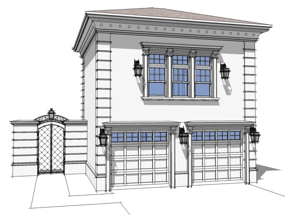 2 car garage plans from design connection llc house for Garage apartment plans canada