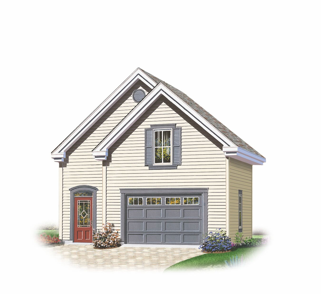 Garage plans with loft and house plans from design for Garage plans with loft